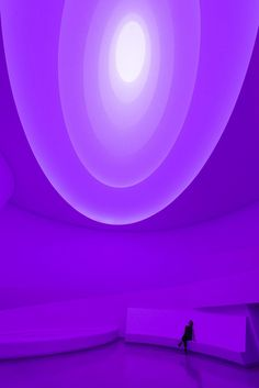 Installation Views of James Turrell's Aten Reign at the Guggenheim  via Flickr