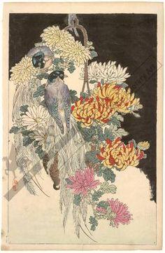 Kono Bairei: Birds (title not original) - Austrian Museum of Applied Arts