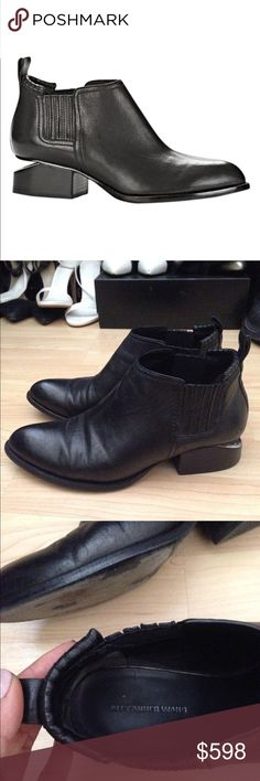 Black Alexander Wang Leather Kori Ankle Boot 38 More info and pics on my Tradesy listing! ---------------- For discounts and FREE shipping, buy this from my Tradesy closet. ➕https://www.tradesy.com/closet/leslielove/ Alexander Wang Shoes Ankle Boots & Booties