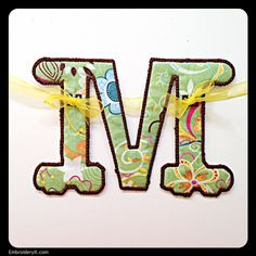 M - Embroidery It | Creative Embroidery Designs