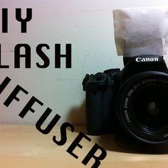 Easy Diy Camera Flash Diffuser