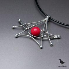 Japonská bárka (Korál) - náhrdelník / Zboží prodejce cerna kosice | Fler.cz