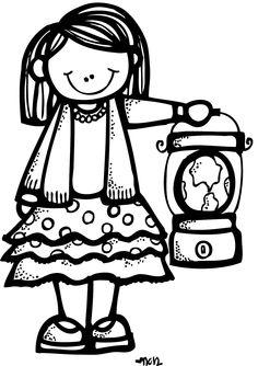 Melonheadz LDS illustrating: girl missionary?