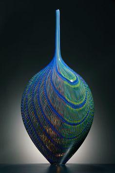 Lino Tagliapietra. Tatoosh, 2009. Blown glass, 261/2 x 123/4 x 8 inches