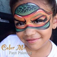 TMNT Face Painting - Color Me Face Painting
