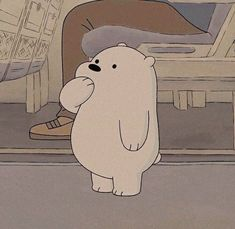 We Bare Bears ~ Polaire 💙 Cartoon Icons, Bear Cartoon, Cartoon Memes, Cartoons, Ice Bear We Bare Bears, We Bear, Bear Wallpaper, Disney Wallpaper, We Bare Bears Wallpapers
