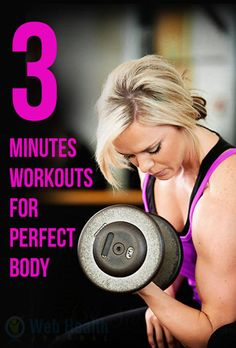 Just three minutes of workouts five times  a week can dramatically improve fitness. #fitness #fitness_tips #crossfit #crossfit_workouts #exercise #health_fitness #motivation #workout_plans