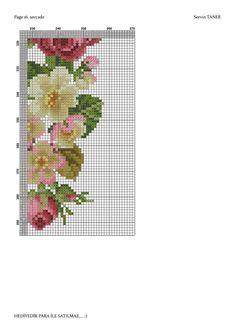 Cross Stitch Rose, Cross Stitch Flowers, Cross Stitch Patterns, Prayer Rug, Bargello, Blackwork, Embroidery Stitches, Cross Stitching, Needlework