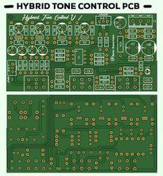 Stereo Hybrid Tone Control by Barlex Respectaizer Image Layout, Circuit Diagram, Diy Electronics, Circuit Board, Layout Design, Electronic Circuit, Audio