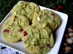 Mennonite Girls Can Cook: Pistachio Cranberry Cookies
