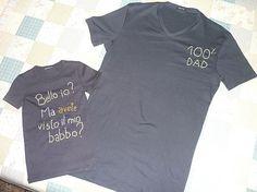 magliette padre-figlio per la festa del Papà