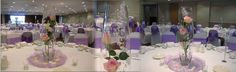 3 rose wedding centrepiece for hire