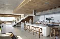 SAOTA – Stefan Antoni Olmesdahl Truen Architects and Three 14 Architects, Glen 2961 House in Cape Town, South Africa.