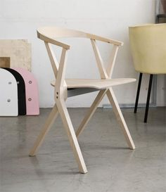 The B Chair by Konstantin Grcic for Bd Barcelona Design