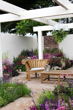 RHS Tatton Flower Show Part Four Courtyard Garden Tea On The