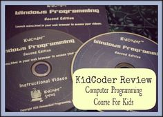 KidCoder  - Computer Programming Course for Homeschool Kids