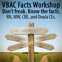 Want a VBAC? Ask your care provider these questions. « VBAC Facts