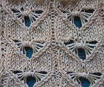 free knitting stitch patterns Dragonfly