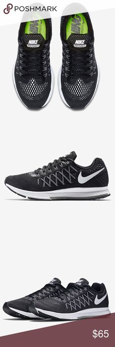 Black Nike Air Zoom Pegasus 670d4944e