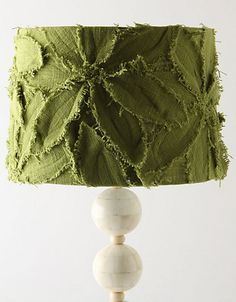 lamp shade tutorial @ Lavender and Lemon Drops...looking for that next lampshade project inspiration