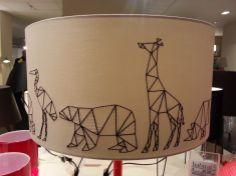 LAMP DIY ! figuurtjes naaien op lampenkap - centsation.nl
