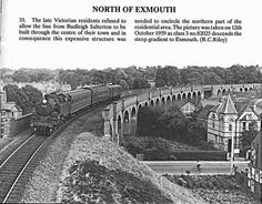 The old train line that use to cross the top of Exeter road Old Pictures, Old Photos, Budleigh Salterton, Old Trains, Exeter, British History, Historical Photos, Devon, White Photography