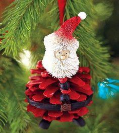 Simple homemade Christmas craft