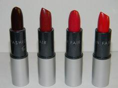 Fashion Fair Lipstick Color Chart | fashion fair siren call lipsticks