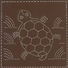 Sashiko Kits, Quilt Blocks, Hand Embroidery, Running Stitch, DIY Crafts for Adults, Southwest Designs