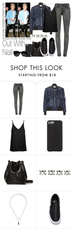 """Out With Niall"" by the4dipshits ❤ liked on Polyvore featuring J Brand, Yves Saint Laurent, Topshop, Case-Mate, Rachael Ruddick, Maison Margiela and Vans"