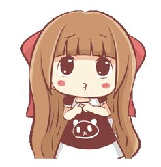 Centilia 3 (Animated) Gifs, Fille Anime Cool, Cute Couple Comics, Chibi Couple, Cute Love Gif, The Little Prince, Cute Chibi, Line Sticker, Kawaii Anime Girl