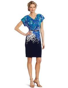 day time to nite time.. love this dress..  Amazon.com: Jones New York Women's Cowl Neck Short Dolman Sleeve Wedge Dress
