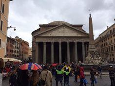Caroline en échange à Rome
