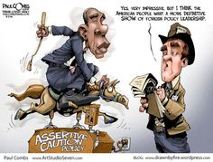 ASSERTIVE CAUTION POLICY | Sep/3/14 Cartoon by Paul Combs -