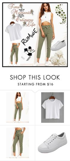 """""""ROMWE # 1"""" by begicdamir ❤ liked on Polyvore featuring H&M"""