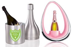 DOM & VEUVE IN DESIGNER BUBBLY COOLERS. WHY NOT.