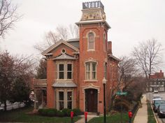 Victorian Brick House  #Victorian #House #Second Empire