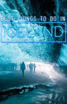 From glacier walking, ice caves and climbing, to volcanoes, the South Coast, eating, and the Blue Lagoon, here are the best things to do in Iceland!