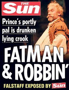 Shakespeare Plays Given Tabloid Twist - Design - ShortList Magazine