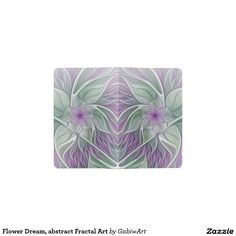 Flower Dream, abstract Fractal Art Pocket Moleskine Notebook