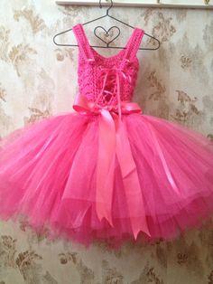 Hot vestido rosa niña de las flores vestido con encaje por Qt2t                                                                                                                                                     Mais