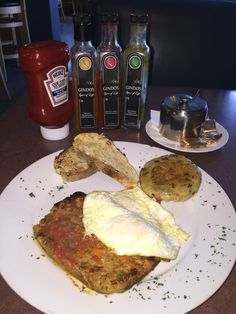 The Breakfast Bar, Long Beach,CA  Meatloaf Steak and Eggs