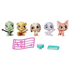 Littlest Pet Shop Multi Pet Pack Awesome Pawsome