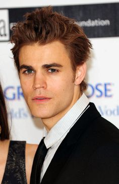 paul wesley in a suit just is just