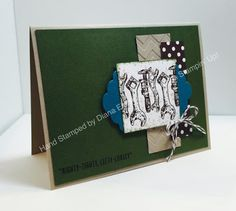 Stampin' Fun with Diana: Fab Friday Sketch Challenge:  Guy Greetings