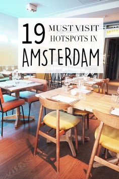 """Amsterdam has many hotspots! Want to know where these bars, cafes & restaurants are? Check the list with tips on http://www.yourlittleblackbook.me & go visit these hotspots yourself! Planning a trip to Amsterdam? Check http://www.yourlittleblackbook.me/ & download """"The Amsterdam City Guide app"""" for Android & iOs with over 550 hotspots: https://itunes.apple.com/us/app/amsterdam-cityguide-yourlbb/id1066913884?mt=8 or https://play.google.com/store/apps/details?id=com.app.r3914JB"""