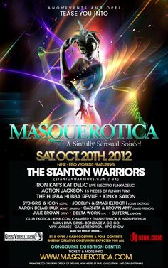 """anonEvents and Opel Productions present """"Masquerotica 2012"""" 10/20/12"""