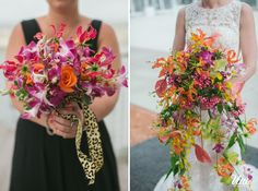 Exotic and Tropical Wedding Bouquets