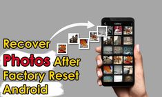 Worried of lost photos after factory reset Android? Check out easy and effective ways to recover photos after factory reset Android Photo Recovery Software, Recovery Tools, Data Recovery, Recover Photos, Recover Deleted Photos, Android One, Settings App, Blog Writing, Sd Card