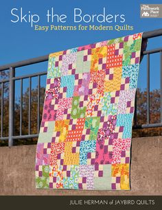 I think it's that purpley color I like more than the pattern of the quilt.  There are also some nice tutorials here and many more cool quilt patterns.